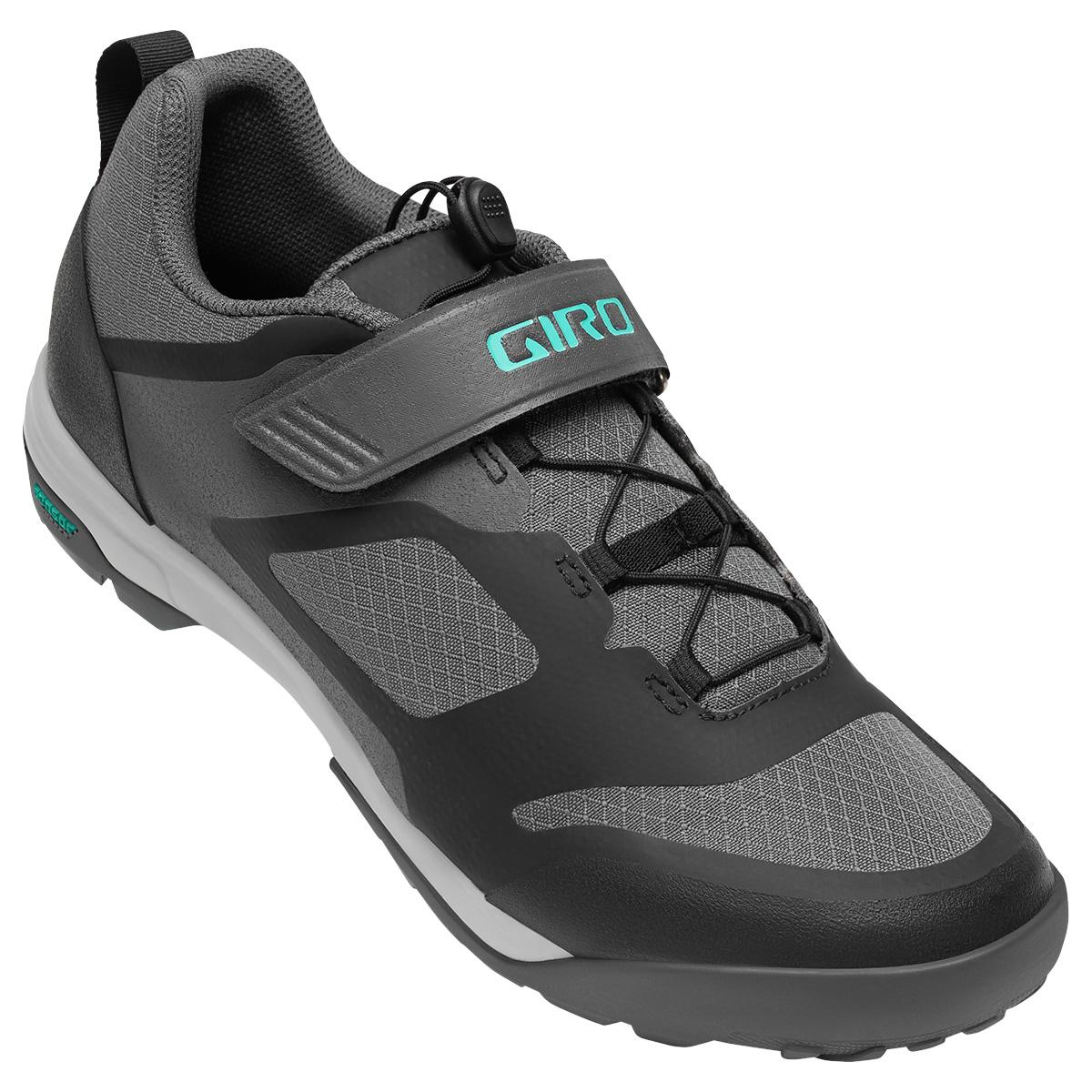 Giro women's Ventana Fastlace Shoe in Dark Shadow front view